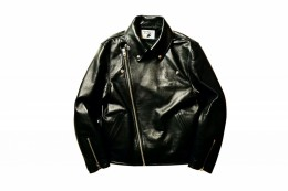 GT Leather Jacket / BLACK
