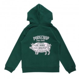 Pork Front Hoodie for Kids / GREEN