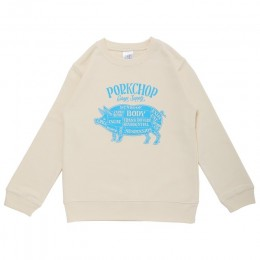 Pork Front Sweat for Kids / IVORY