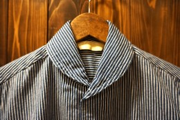 The Stylist Japan - Shawl Collar Hickory SHT