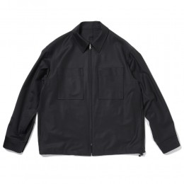 Summer Wool Zip Front Blouson