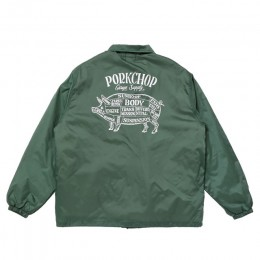 Pork Back Boa Coach JKT / D-GREEN