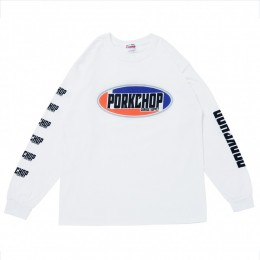 2nd Oval L/S Tee / WHITE