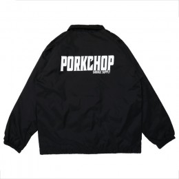 PORKCHOP GARAGE SUPPLY - 2nd Oval Coach JKT / BLACK