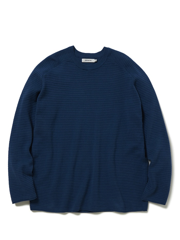 nonnative - Coach Sweater Cotton Yarn