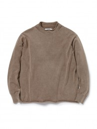 Hunter Mock Neck Sweater Cotton Yarn VW