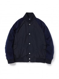 nonnative - Educator Blouson Nylon Taffeta with ULTRASUEDE®