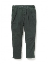 ClerkAnkleCutTrousers RelaxFit CottonChinoCloth OD