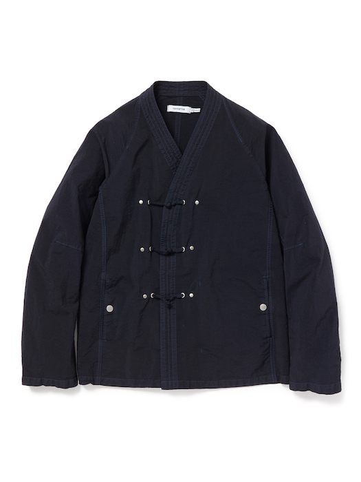 nonnative - Master Jacket Nylon Tussah Overdyed