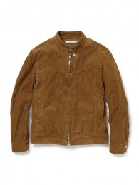 Rider Blouson Cotton Cord Overdyed