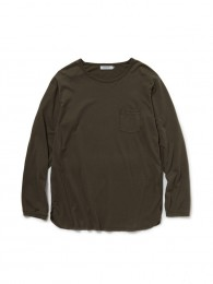 nonnative - Dweller L/S Tee Cotton Jersey