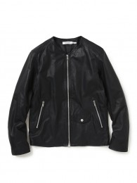 Cyclist Blouson Cow Leather