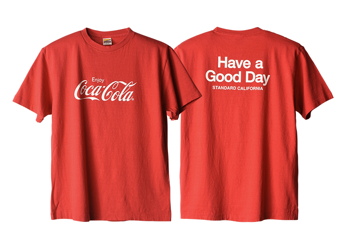 STANDARD CALIFORNIA - Coca Cola x SD Have a good day T