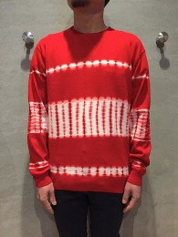 nonnative - Guardian Sweater Cotton Yarn Tie-Dye