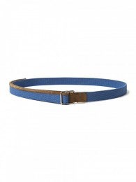 nonnative - Worker Belt Cotton Tape with Cow Leather