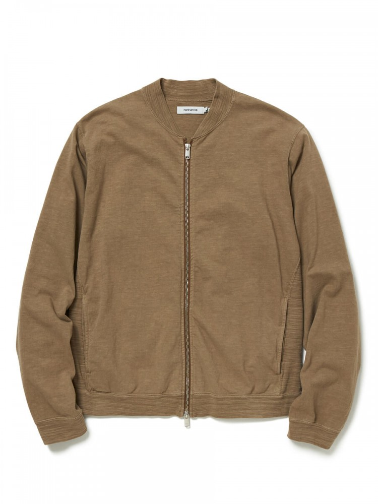 nonnative - Cyclist Full Zip Cotton Slab Jersey Overdyed