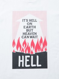 COOTIE - Print S/S Tee (HELL ON EARTH)