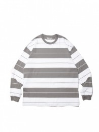 Supima Cotton Border L/S Tee