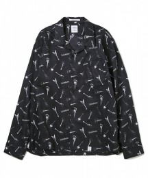 "L/S ORG Broad Guiter Shirt ""TAYLOR"""