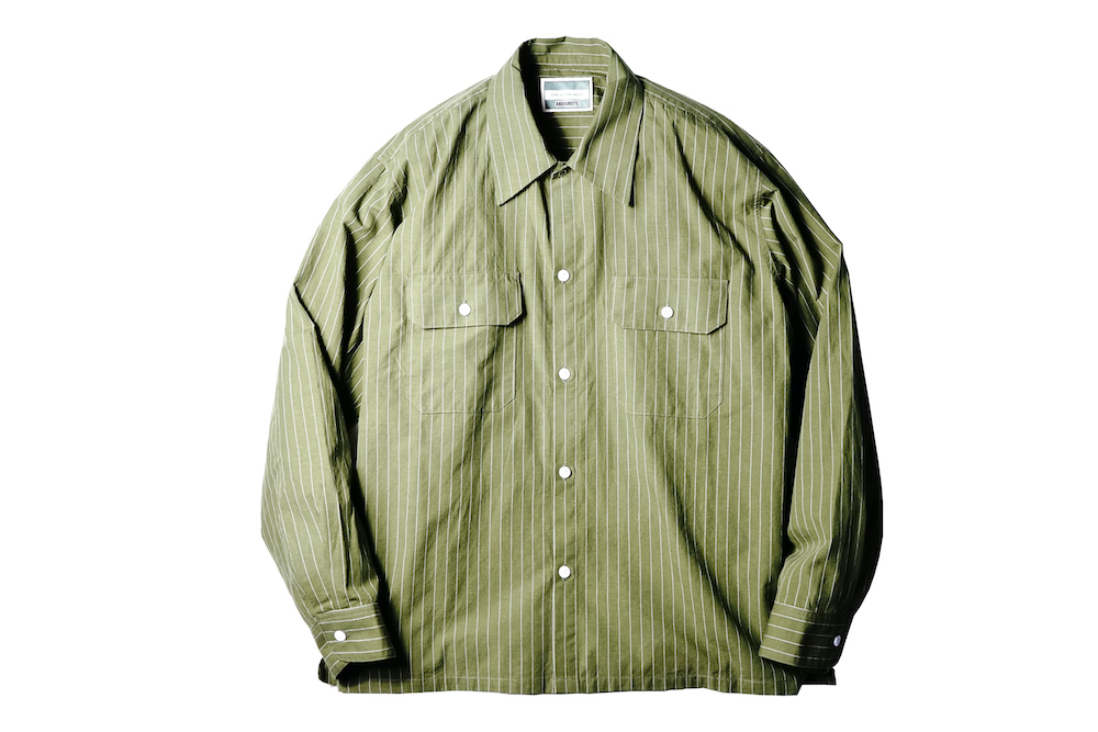 AND FAMILYS - Hemp Dungaree Work Shirts