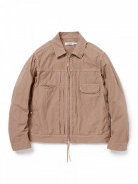 Worker Jacket Cotton Oxford Overdyed