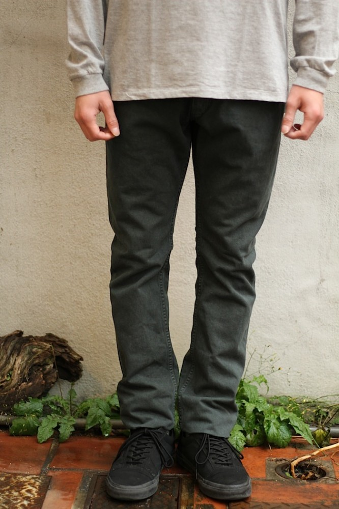 nonnative - Dweller 5P Jeans Usual Fit Cotton Chino Cloth OD