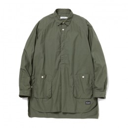 Cotton Typewriter Gardener PO Shirt by nonnative