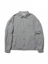 Dobby Gingham Check Drizzler Jacket