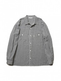 Dobby Gingham Check L/S Work Shirt