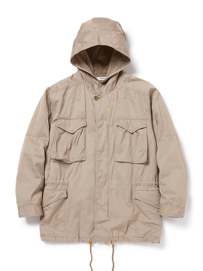 nonnative - Hunter Hooded Coat C/L Twill