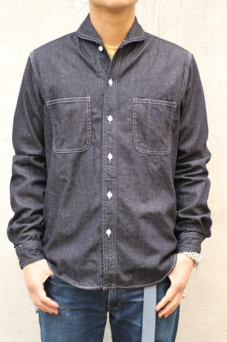 The Stylist Japan -  Shawl Collar Denim SHT