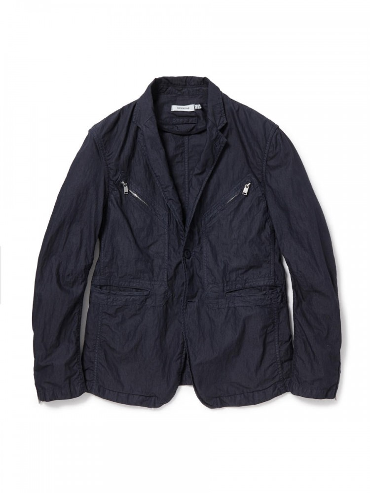 nonnative - Trooper 2B Jacket C/N Weather Overdyed
