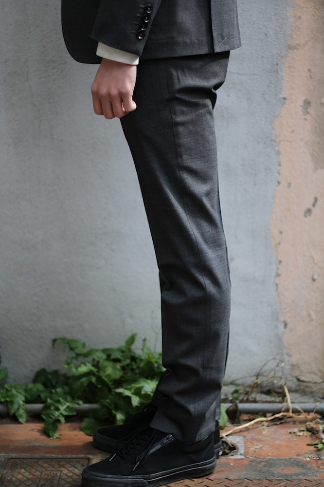 "BEDWIN - 10/L Wool Tapered Fit Pants ""CHARLS"""