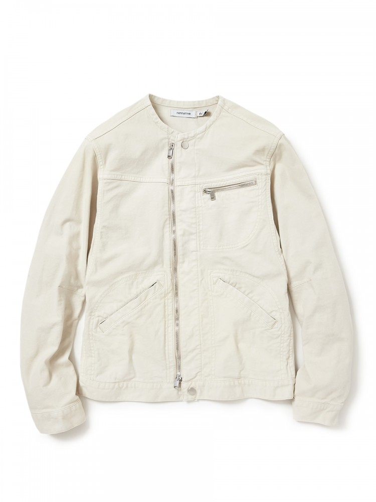 nonnative - Worker Jacket C/P Oxford Stretch VW Overdyed