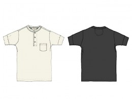 GLAD HAND & Co. - Standard Henry Pocket T-Shirts