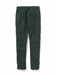 Farmer Easy Pants Relax Fit Cotton Twill Overdyed