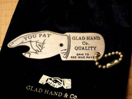 GLAD HAND & Co. - GH You Pay Spinner Key FOB