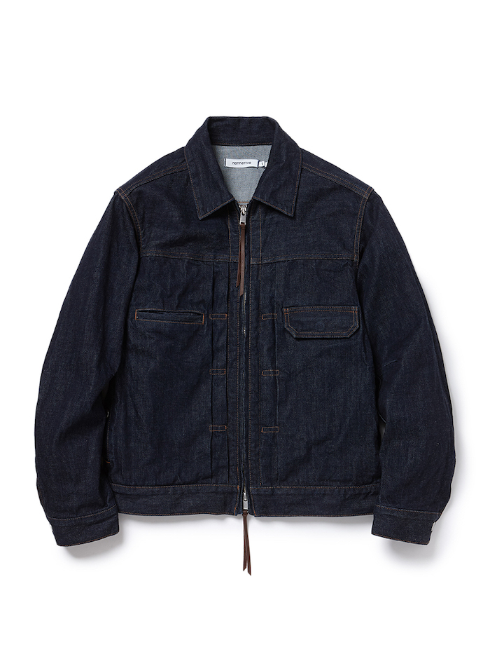 nonnative - Worker Jacket Cotton 12oz Denim OW