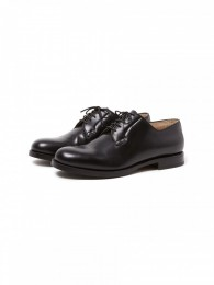 Clerk Plain Toe Shoes Cow Leather