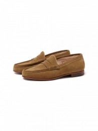 Clerk Loafer Cow Suede