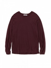 Roamer Tee L/S Cotton Jersey Overdyed