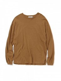 nonnative - Roamer Tee L/S Cotton Jersey Overdyed