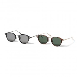 Round Frame Glasses by KANEKO OPTICAL