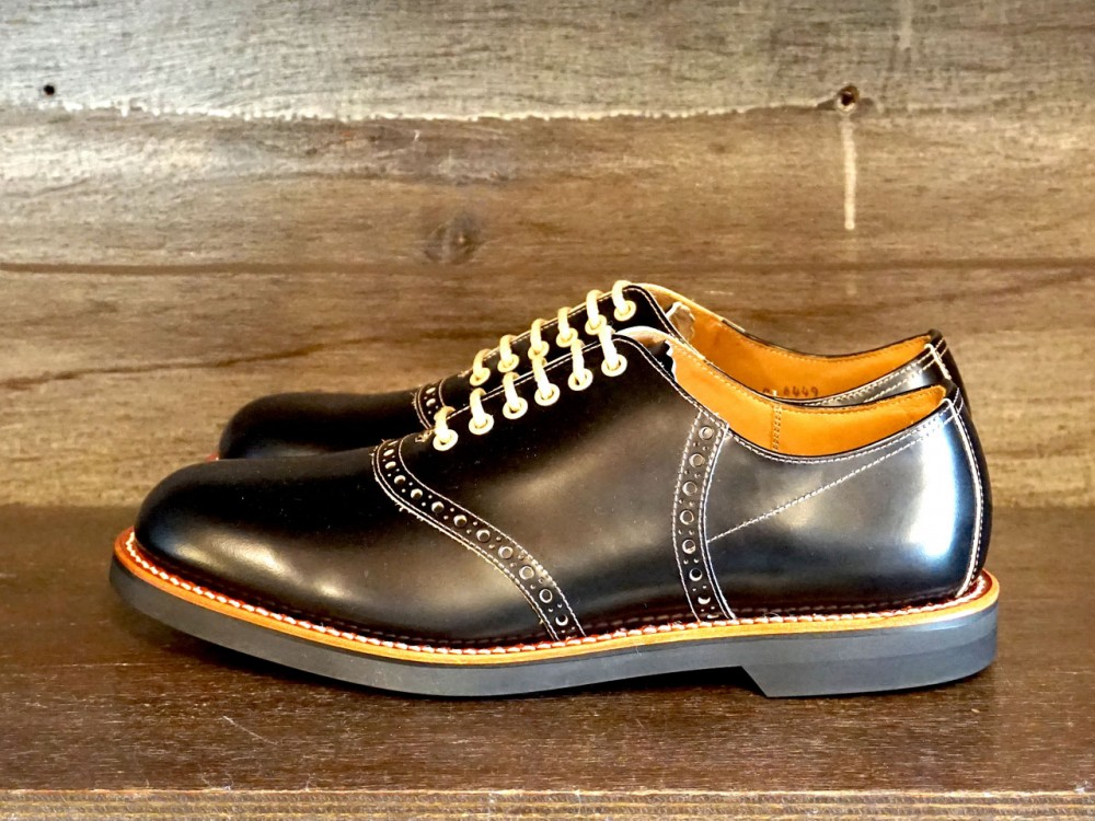 GLAD HAND & Co. - Glad Hand x Regal Saddle Shoes - BLACK
