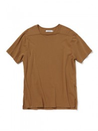 Trainer Tee S/S Cotton Jersey Overdyed