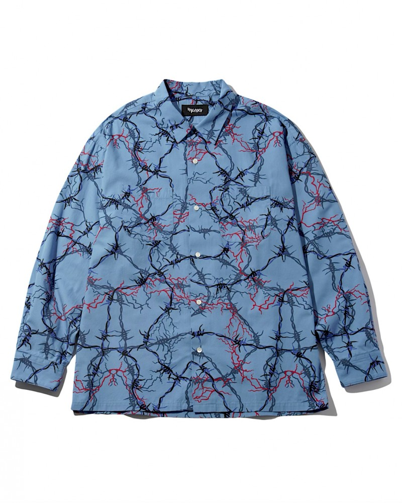 MASSES - Shirts LS WIRE