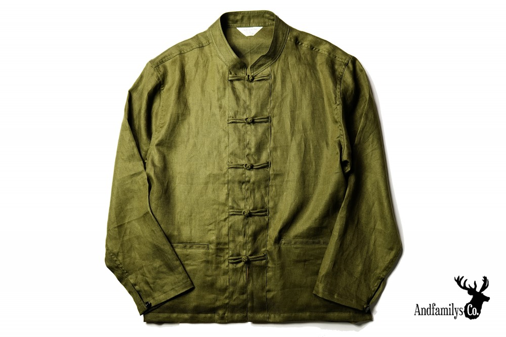 AND FAMILYS - KFU Linen H-Jacket