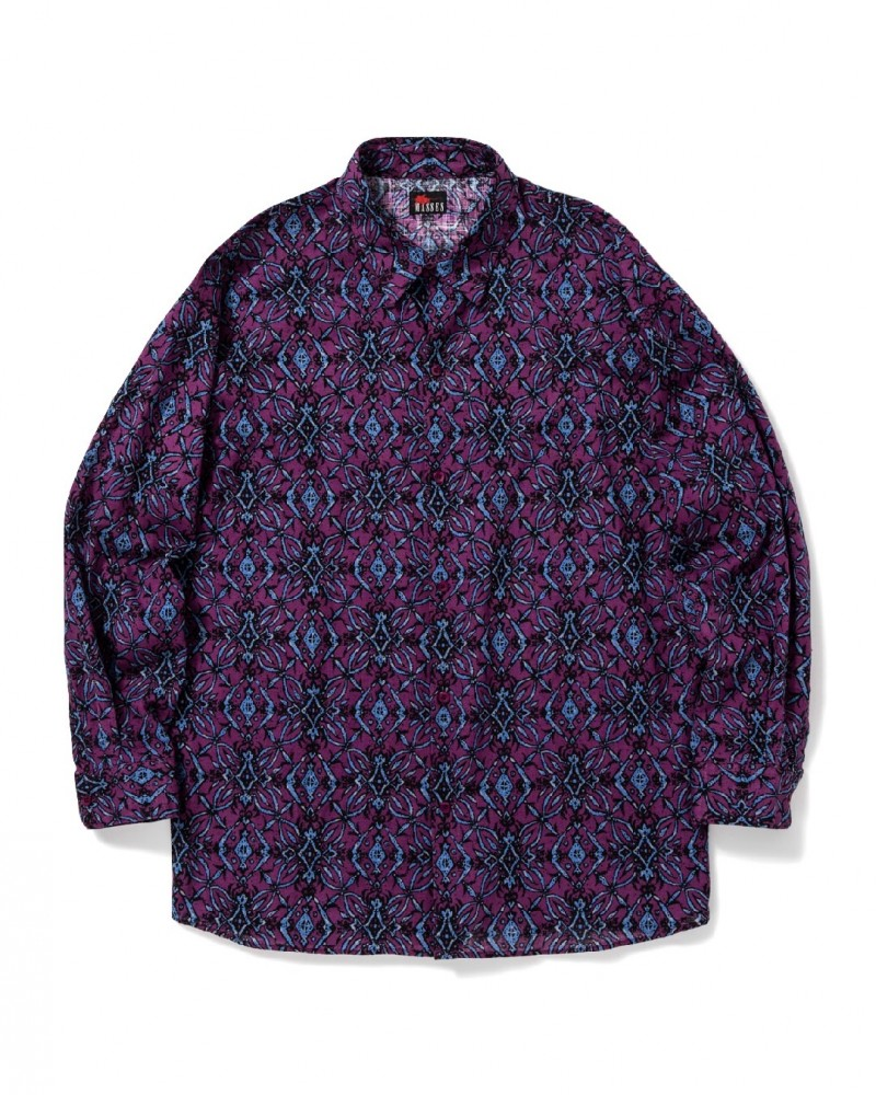 MASSES - Arabesque Pattern Shirt