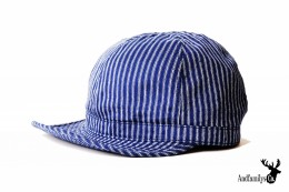 Indigo Stripe Work CAP