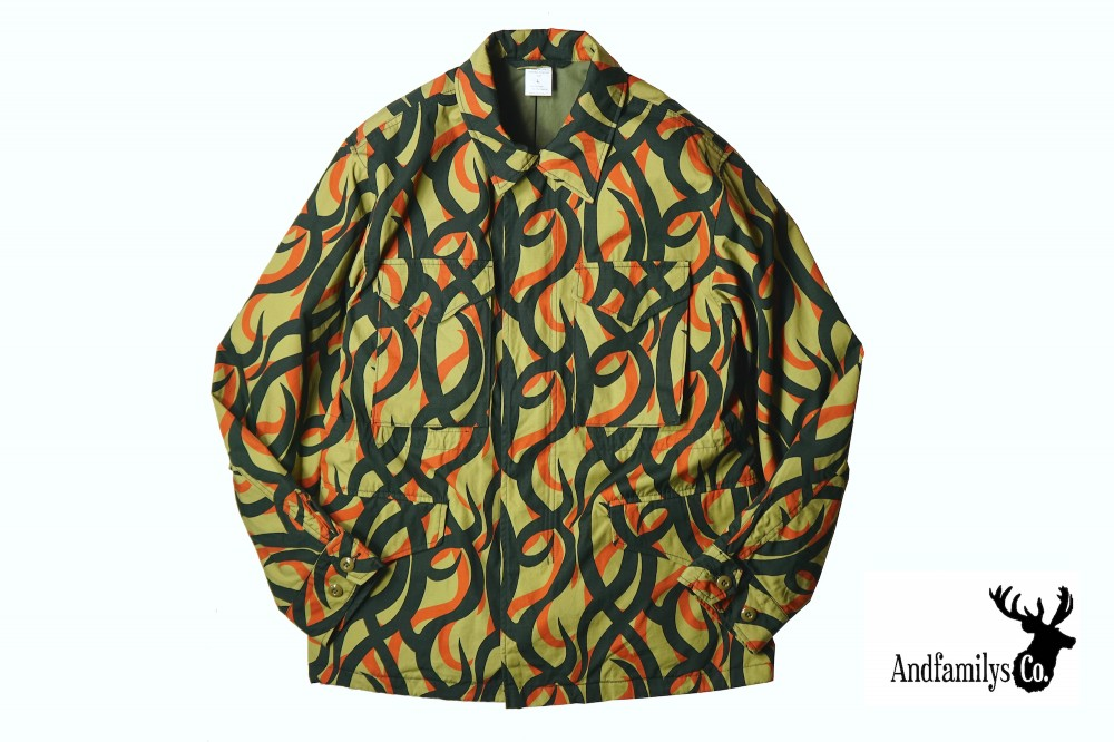 AND FAMILYS - Tribal Camp Field Jacket